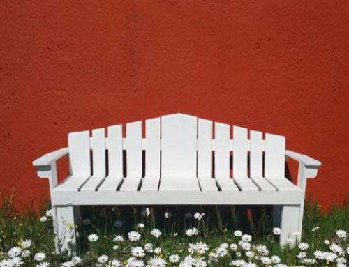 Upcycling old pallets for garden furniture